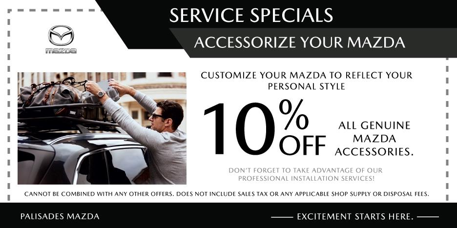 Accessorize Your Mazda