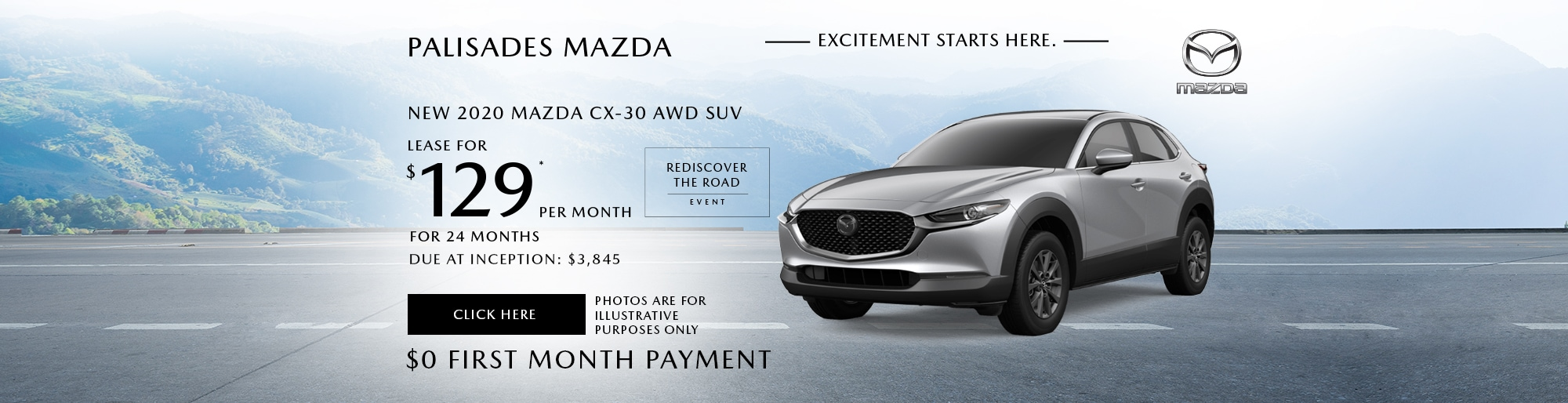 Mazda CX-30 lease deal image