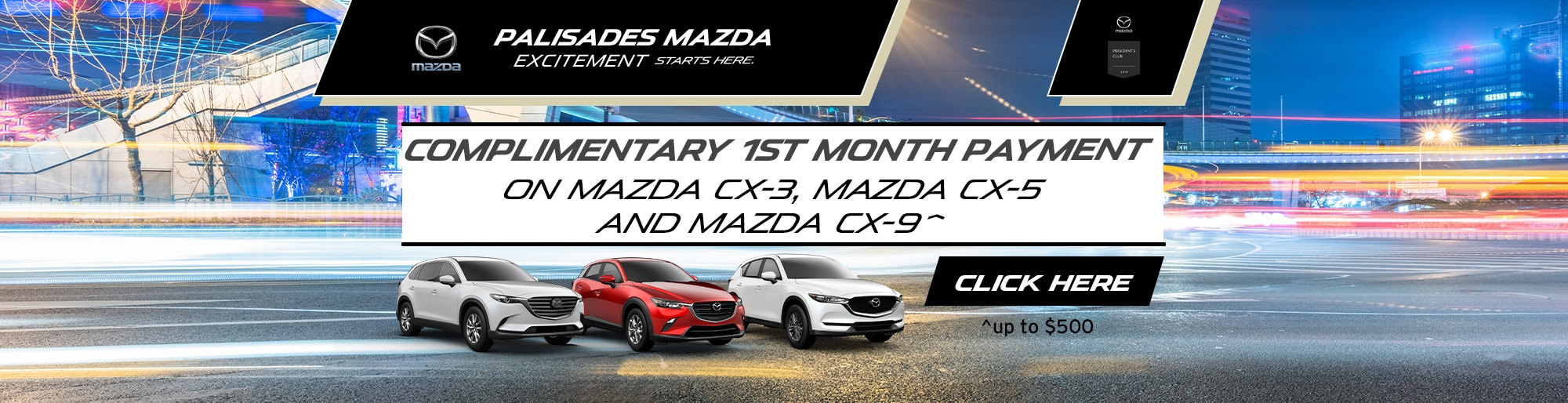 Mazda Lease Deal Image