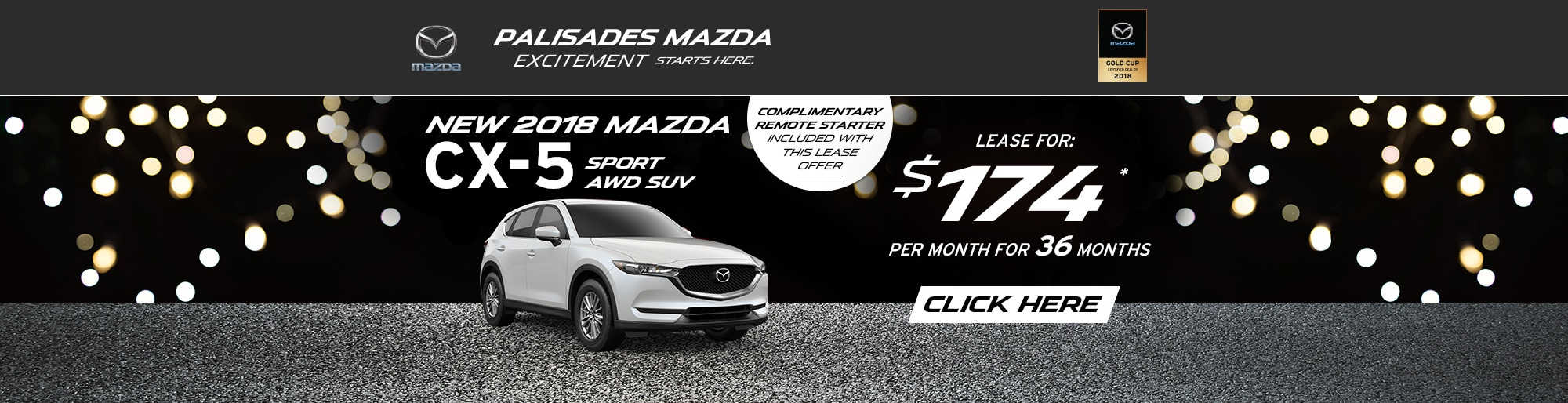 Mazda CX-5 lease deal image