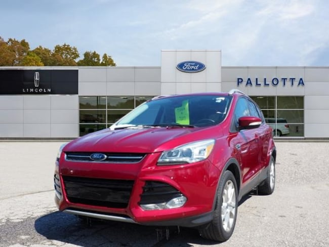 Certified Pre-Owned 2016 Ford Escape Titanium SUV for sale in Wooster, OH