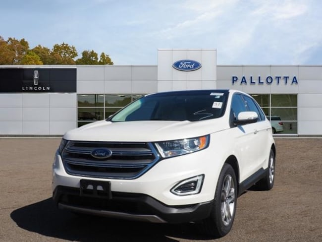Certified Pre-Owned 2016 Ford Edge Titanium SUV for sale in Wooster, OH