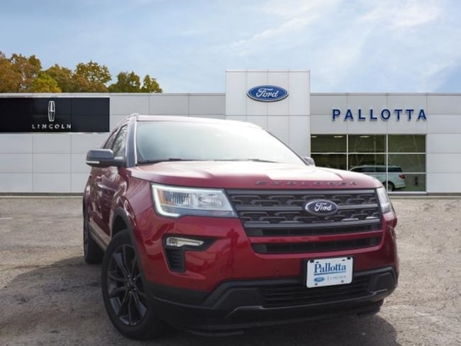 New 2018 Ford Explorer XLT SUV for sale/lease in Wooster, OH