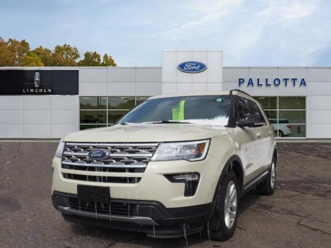 Certified Pre-Owned 2018 Ford Explorer XLT SUV for sale in Wooster, OH