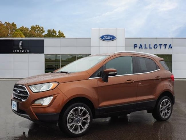 Certified Pre-Owned 2018 Ford EcoSport Titanium SUV for sale in Wooster, OH