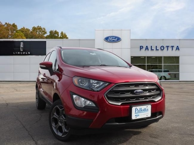 New 2018 Ford EcoSport SES Crossover for sale/lease in Wooster, OH