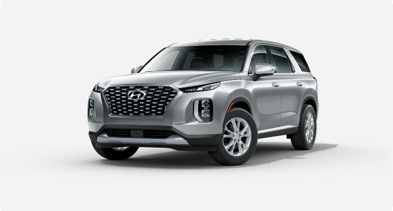 Silver Hyundai Palisade For Sale in West Palm Beach Florida