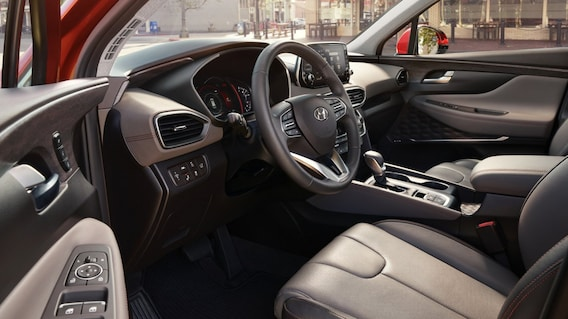 west-palm-beach-hyundai-santa-fe-interior