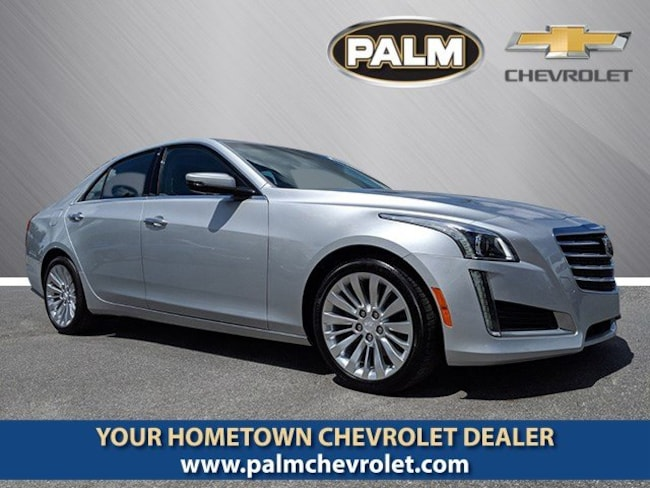 2017 CADILLAC CTS 2.0L Turbo Luxury Sedan