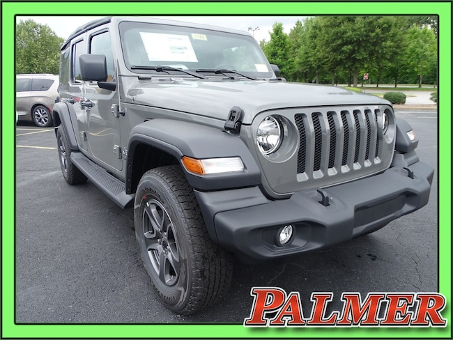 New 2018 Jeep Wrangler UNLIMITED SPORT S 4X4 Sport Utility Atlanta