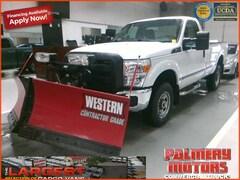 2015 Ford F-250 4x4 Western V Plow Truck
