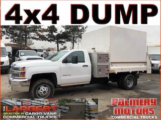 Used 2015 Chevrolet Silverado 3500hd 4x4 Del Dump Box Regular Cab in Woodbridge, ON