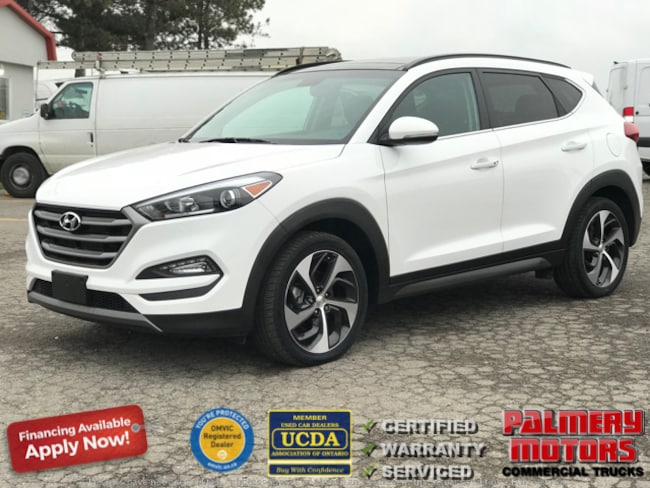 Used 2016 Hyundai Tucson Limited AWD 1.6T NAVIGATION LEATHER PANORAMIC ROOF SUV in Woodbridge ON