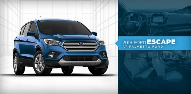 2018 Ford Escape at Palmetto Ford Lincoln