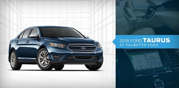 2018 Ford Taurus at Palmetto Ford Lincoln