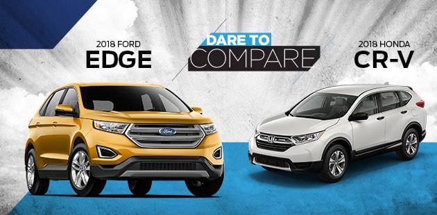 Dc  Ford Edge Vs  Honda Cr V At Palmetto Ford