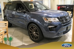 New 2019 Ford Explorer XLT SUV 1FM5K7D84KGA41682 for sale in Indio, CA