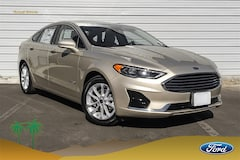 New 2019 Ford Fusion Hybrid SEL Sedan 3FA6P0MU4KR135445 for sale in Indio, CA