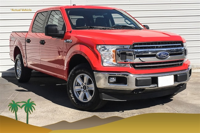 Certified Pre-Owned 2018 Ford F-150 Truck for sale in Indio, CA