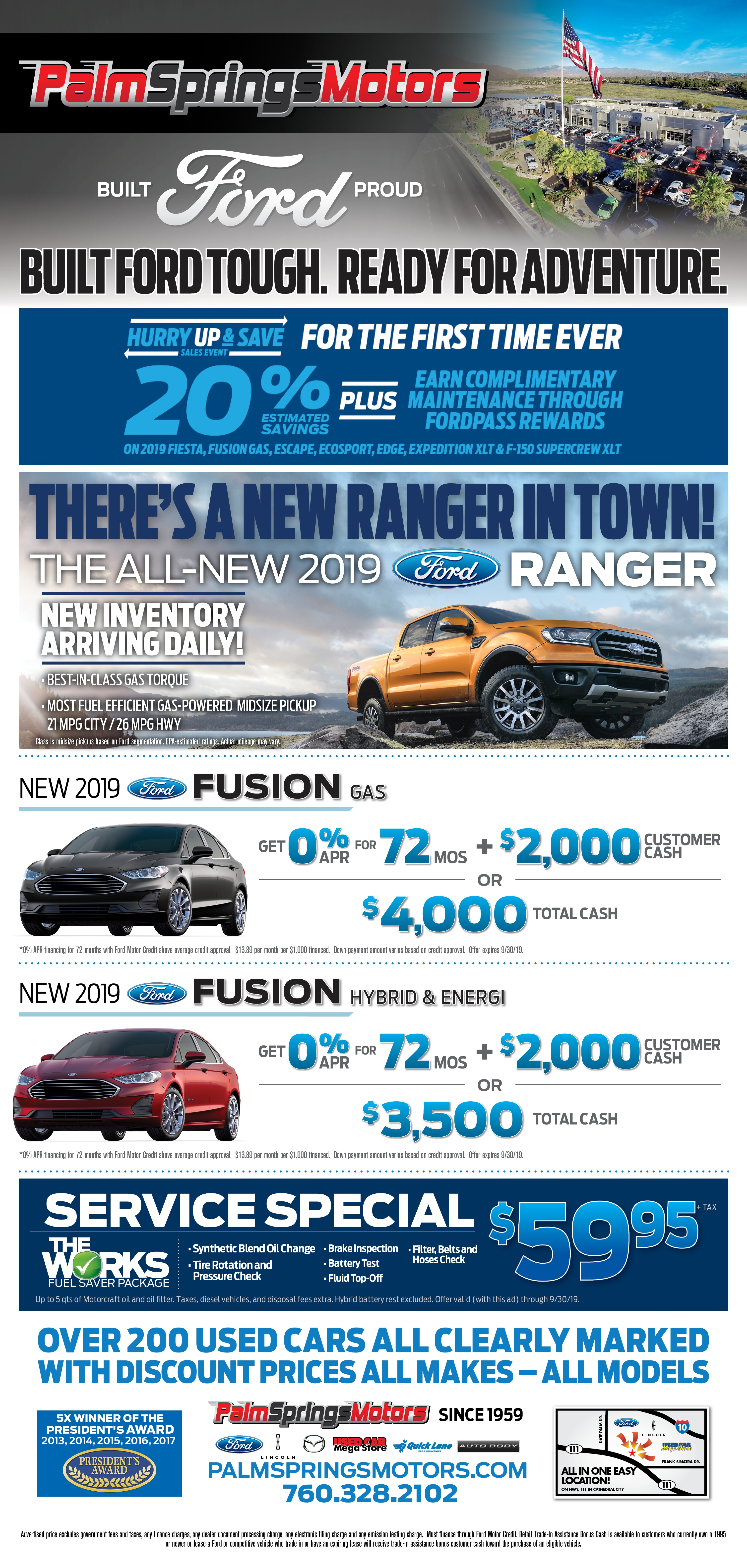 Palm Springs Ford >> Weekly Ad Palm Springs Ford