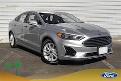 New 2019 Ford Fusion Hybrid SEL Sedan 3FA6P0MU6KR135446 Palm Springs