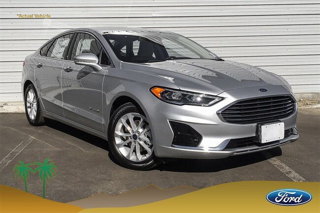 New 2019 Ford Fusion Hybrid SEL Sedan for sale in Indio, CA