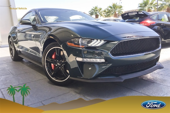 New 2019 Ford Mustang Bullitt Coupe in Cathedral City