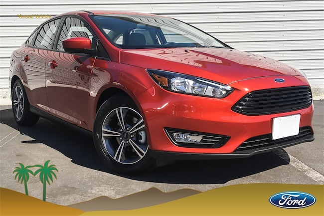 New 2018 Ford Focus SE Sedan for sale in Indio, CA