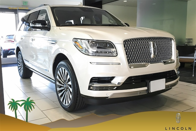 New 2019 Lincoln Navigator Reserve Suv V6 In Cathedral City Ca