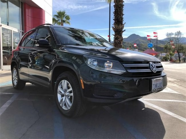 Used 2016 Volkswagen Tiguan 2.0T SUV WVGAV7AX0GW584316 in Cathedral City