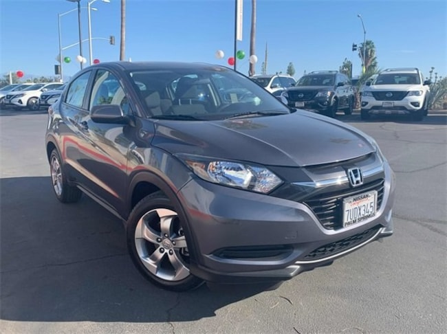 Used 2017 Honda HR-V LX 2WD SUV 3CZRU5H37HM700592 in Cathedral City