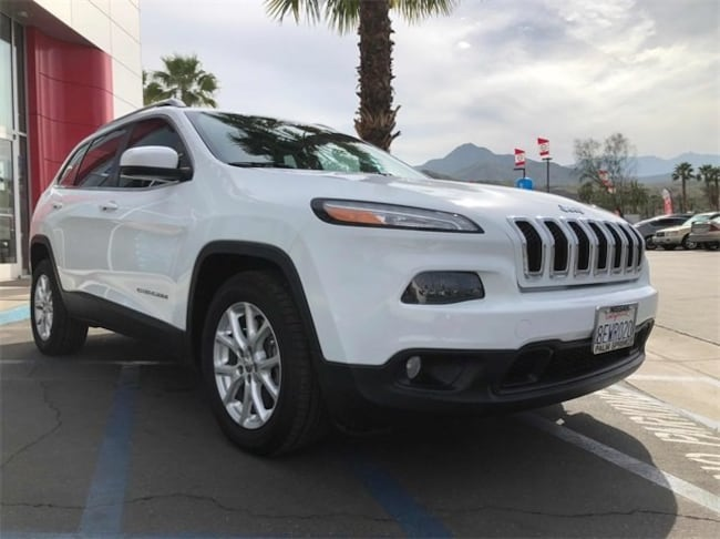 Used 2014 Jeep Cherokee Latitude FWD SUV 1C4PJLCSXEW217439 in Cathedral City