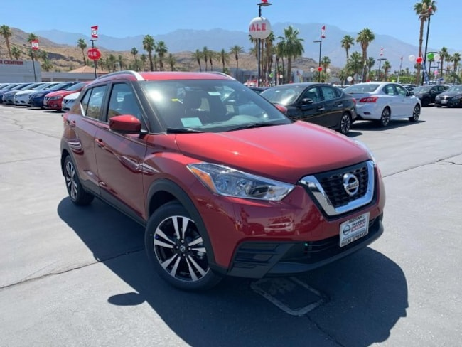 New 2019 Nissan Kicks SV SUV in Cathedral City