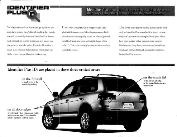 Identifier Plus Security System Palm Springs Subaru
