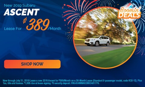 July - 2019 Ascent Offers