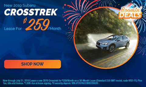 July - 2019 Crosstrek Offers