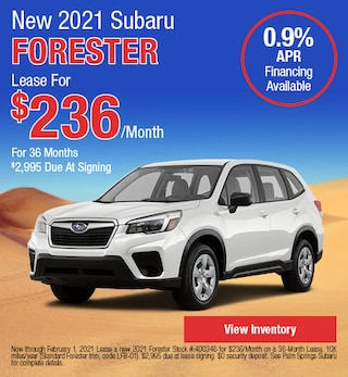 New 2021 Subaru Forester - January Special