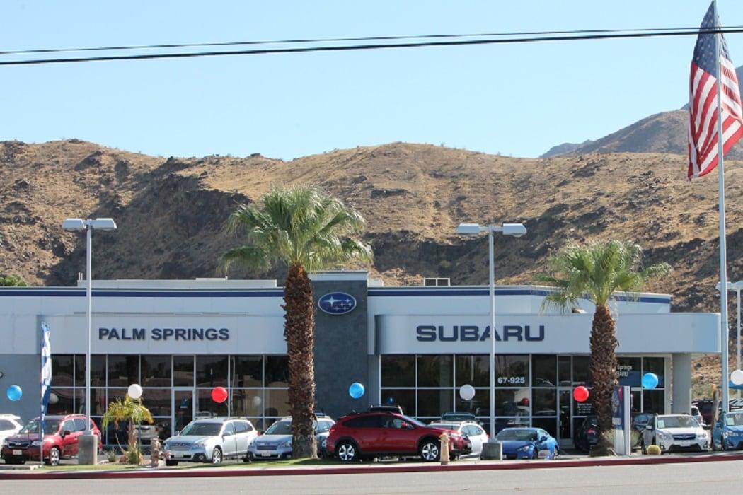 Palm Springs Subaru >> New 2019 & 2020 Subaru & Used Car Dealer near Palm Springs, CA