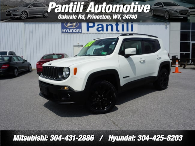 Used 2017 Jeep Renegade 4x4 Altitude  SUV for sale in Princeton, WV