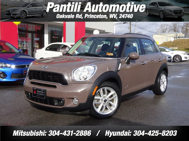 Used Featured 2014 MINI Countryman Cooper S ALL4 AWD Cooper S ALL4  Crossover for sale in Princeton, WV