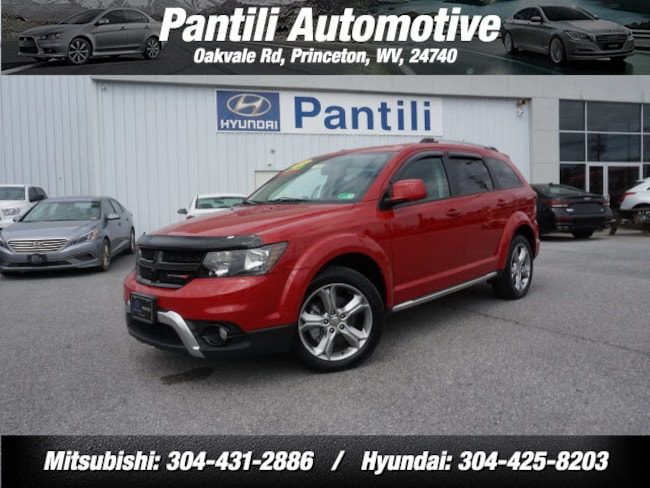 Used 2017 Dodge Journey AWD Crossroad  SUV for sale in Princeton, WV