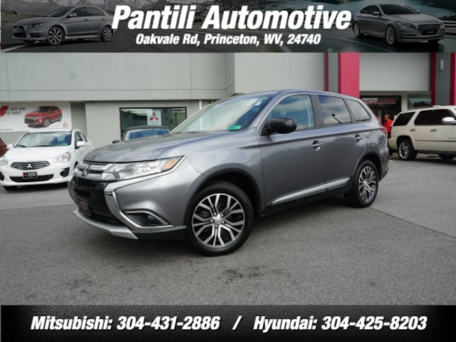 Used 2018 Mitsubishi Outlander AWD SE  SUV for sale in Princeton, WV