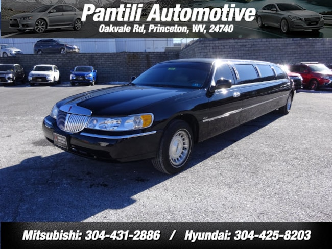 Limousine For Sale >> Used 1999 Lincoln Town Car For Sale Princeton Wv Stock 3501