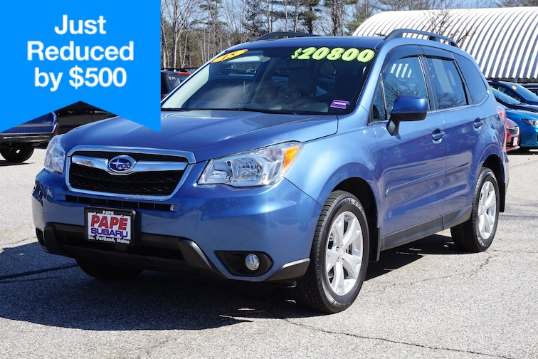 Used  2015 Subaru Forester 2.5i Limited (CVT) SUV in South Portland Maine