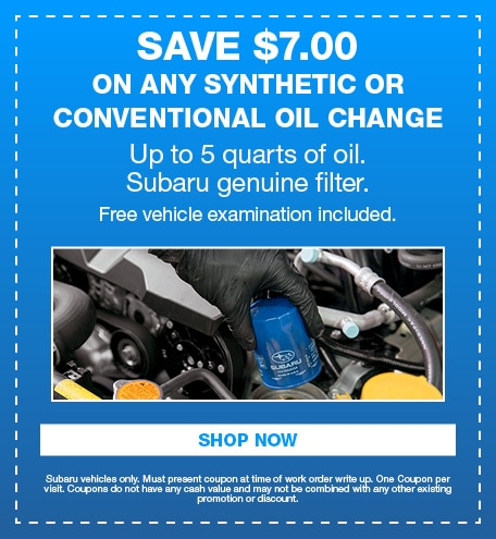 Save $7.00 On Any Synthetic or Conventional Oil Change