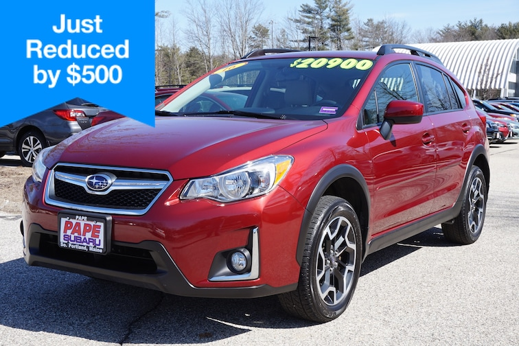 Used  2016 Subaru Crosstrek Premium Wagon in South Portland Maine