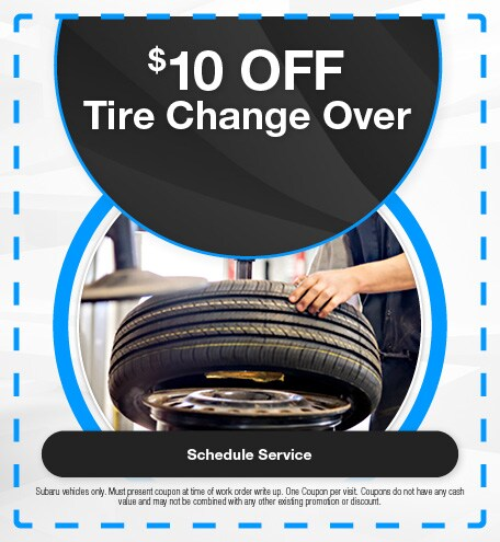 $10 Off Tire Change Over