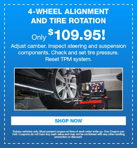 4-Wheel Alignment and Tire Rotation
