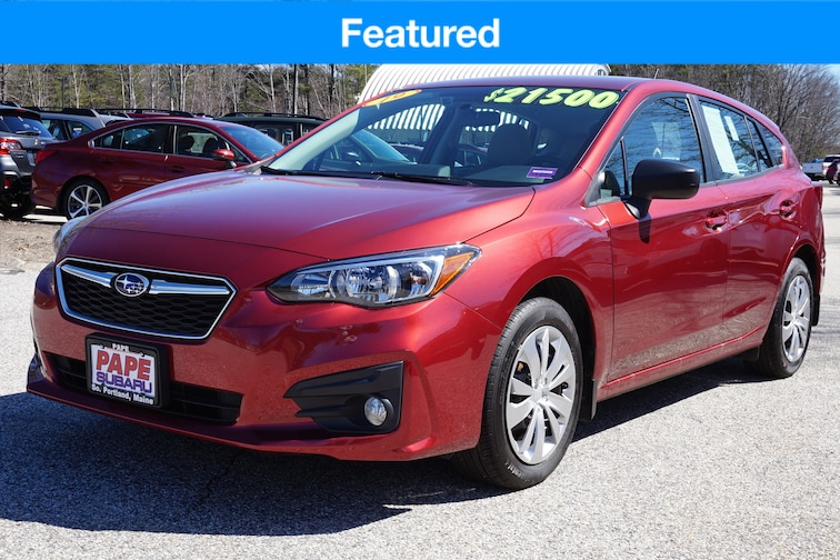 Used  2019 Subaru Impreza 5 Door 2.0i w/ Eyesight Wagon in South Portland Maine