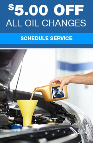 $5.00 Off All Oil Changes